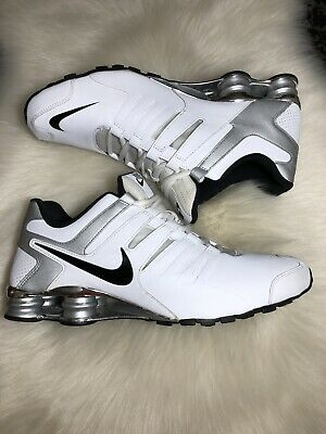 brand new 7c778 0fb30 Nike Shox Current Men s Size 13 Gray Grey White Black Running Sneakers