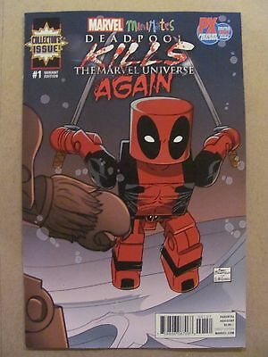 I563 SDCC 2017 DEADPOOL KILLS MARVEL UNIVERSE AGAIN #1 OF 5 MIN MARVEL USA