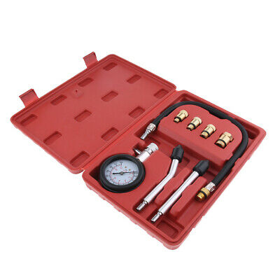 Premium Motorcycle Automotive Car Petrol Engine Compression Test Kit Gauge