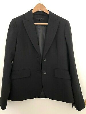SABA - Women's Black Suit Jacket - Size 10