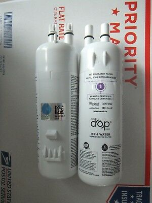 Whirlpool Refrigerator Ice Water Filter Every Drop W10295370A  1-Filter