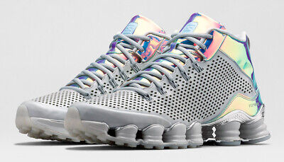 outlet store 04e3e 5590f Mens 10.5 NIKE Shox TLX Mid SP Dusty Grey reflect silver chrome Shoes BRAND  NEW