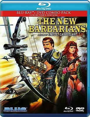 The New Barbarians (Blu-ray/DVD, 2015, 2-Disc) 1983 NEW