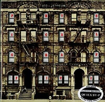 Led Zeppelin Physical Graffiti Classic Records 200gm Quiex SV-P vinyl 2 LP NEW/S