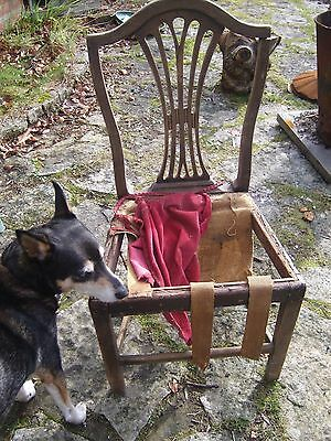 Antique Hepplewhite Stye Chair needing repair and upholstering