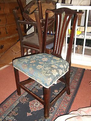 Lovely Antique Chippendale Stye Chair, damaged