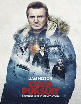Cold Pursuit 4K Ultra Hd Disc Only | Region Free | Liam Neeson