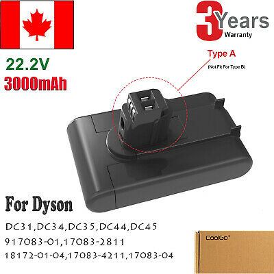 22.2V Battery for Dyson DC31 DC34 DC35 DC44 917083-01 Vacuum Cleaner Type A