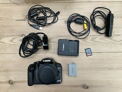 Canon EOS 450D / Rebel XSi 12.2MP Digital SLR Camera - Black (Body Only)