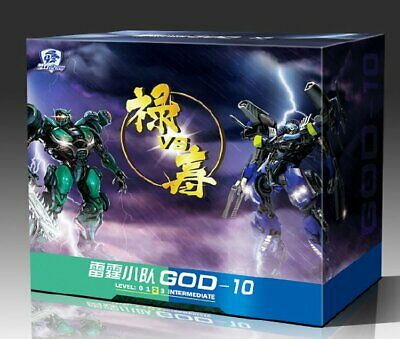 Dream Factory GOD10 The Wreckers Roadbuster Topspin Set Figure Transformed Robot