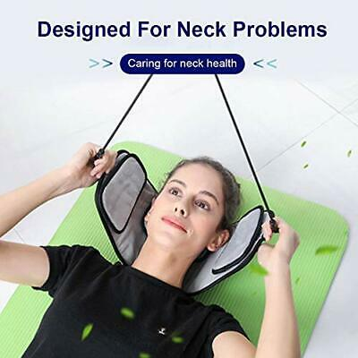 Neck Traction Device Stress With Eye mask Door Relax Physical Handle Hammock