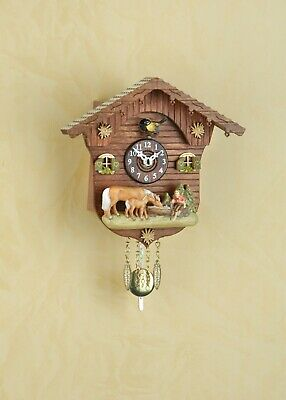 German Black Forest Cuckoo Clock Swiss House with Quartz movement cuckoo music