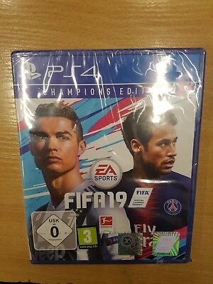 Fifa 19 Champions Edition Sony Ps4 New Sealed Pal Playstation 4