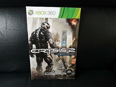 Crysis 2, Xbox 360 Game Manual, Trusted Ebay Shop