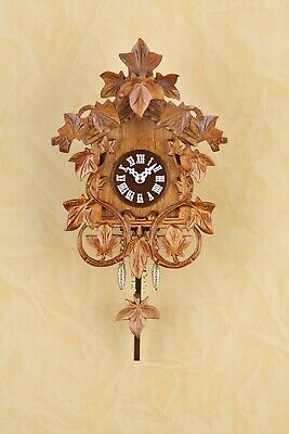 German Black Forest small pendulum Cuckoo Clock with Quartz movement cuckoo call