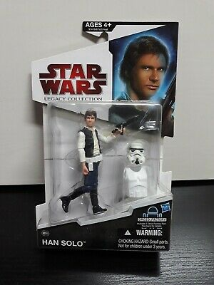 "STAR WARS Han Solo LEGACY COLLECTION FIGURA HASBRO  ""NUEVA Y PRECINTADA"""