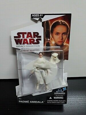 "Star Wars Padme Amidala Legacy Collection Figura Hasbro  ""Nueva Y Precintada"""