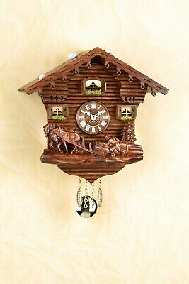 German Black Forest Swiss House Cuckoo Clock Quartz movement cuckoo lumberjack