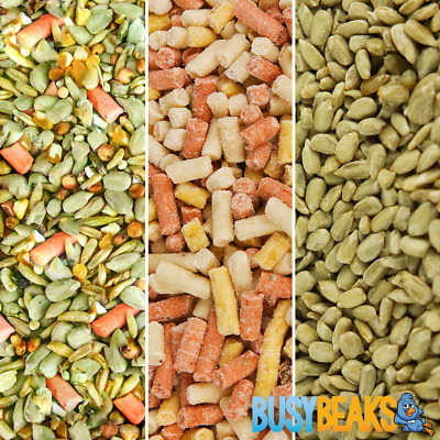BusyBeaks High Energy Feed Mix Bundle - Premium Grade Wild Garden Bird Food Seed