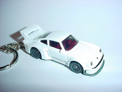 Key Chains Moderate Price New 3d Porsche 934.5 Custom Keychain Keyring Key White Racing Finish Bling!! Parts & Accessories