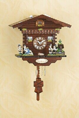 German Black Forest Cuckoo Clock Swiss House Quartz movement cuckoo Musikstadl