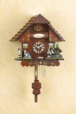 German Black Forest Cuckoo Clock Quartz movement cuckoo Musikstadl