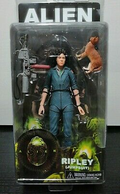 "Alien Ripley Jump Suit + Cat Figura Neca "" Nueva / Precintada"" New & Sealed"
