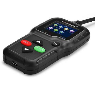 KW680 CAN OBDII OBD2 EOBD Car Code Reader Diagnostic Scan Tool Fault Scanner AC