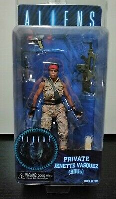 "Aliens Private Jenette Vasquez Figura Neca "" Nueva / Precintada"" New & Sealed"