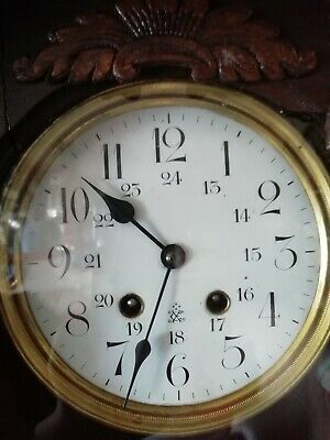 antique wall clock very old