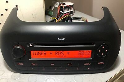 Autoradio Cd/Mp3 Fiat Qubo - Fiorino Citroën Nemo  - Peugeot No Canchek