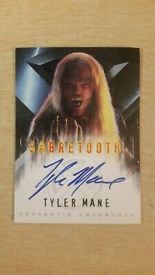 Topps X-Men: The Movie Autograph Card Tyler Mane As Sabretooth. NM. Rare