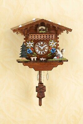 German Black Forest Miniature Pendulum Cuckoo Clock Quartz movement cuckoo music