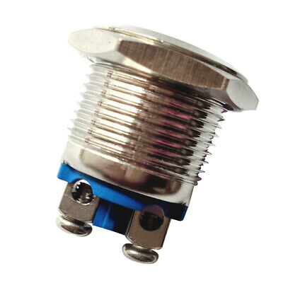 16mm Waterproof Selfreset Momentary Push Button Switch Copper Screw Terminal
