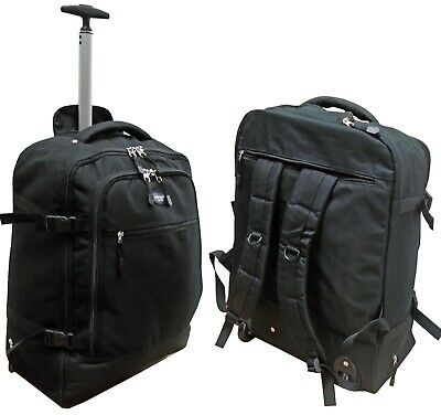 Wheeled Backpack Cabin Bag On Board Hand luggage Hiking Sports Short Break Bag
