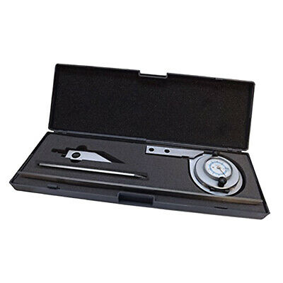 Vernier Bevel Protractor Universal Protractor 360 Degree 6'' and 12'' Blade