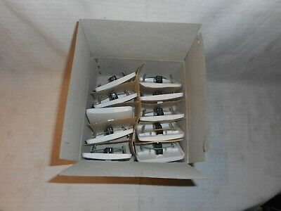 box of 10 vintage nettle 5 amp one way switches