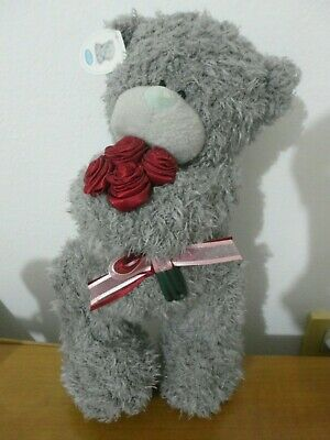 with tag! ME TO YOU Bear 28cm(11.2'') with Red ROSES Teddy Bear/BIG HEART
