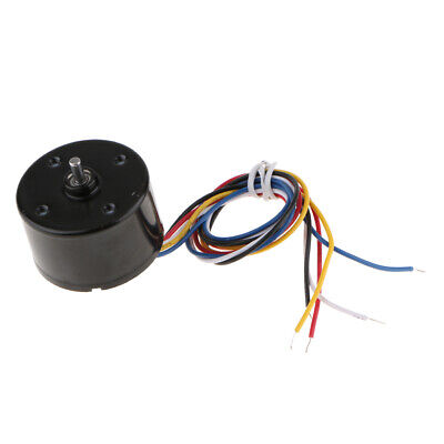 LARGE TORQUE LOW Noise Brushless DC Motor PWM Speed Controller 24V