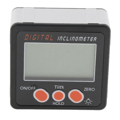 Digital Inclinometer Protractor Angle Gauge Level with Screwdriver IP54