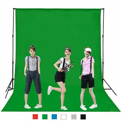 Green Black Chromakey Cotton Backdrop Screen Photography Photo Background