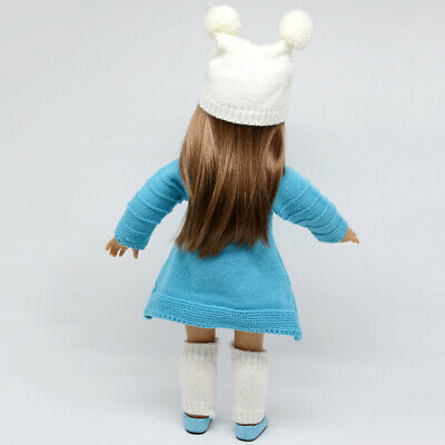 Handmade Fashion Girl Dress For 18inch AG American Doll Doll Clothes Outfits