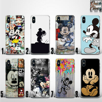 Mickey Minnie Mouse Disney Character Thin Uv Case Cover For Iphone
