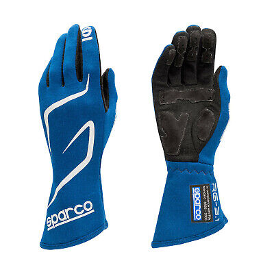 Sparco Race Gloves LAND RG-3.1 blue (with FIA homologation) - Genuine - 9