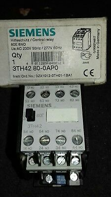 SIEMENS Control Relay 3TH42 80-OAPO