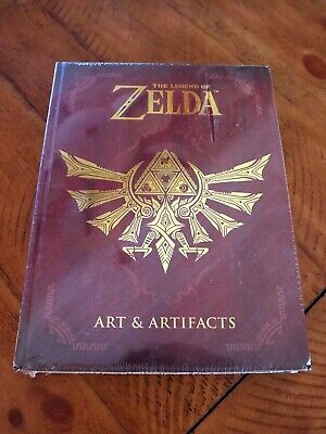 Brand New/Shrink Wrapped: The Legend of Zelda: Art and Artifacts Hardcover Book