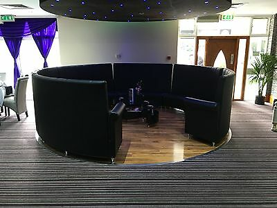 Booths, benches, Sofas, Chair, Table, Restaurant, rounded bench, Leather,