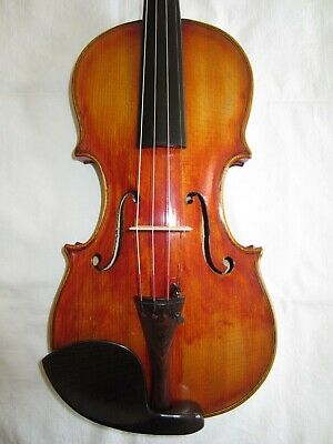 Vintage Old 4/4 American Violin by R. A. LAPELLE Rochester NY 1948 Stradivarius
