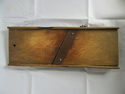 "Antique Primitive Wood Cabbage Slaw Cutter Board *Great Old Look (16.5"")"