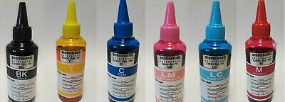 Refill Dye Ink 100ml Bulk for use in Epson Printers Ciss Refillable Cartridges